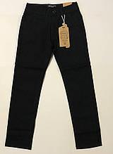 Катоновые штаны (чёрные) для мальчиков р.146 см