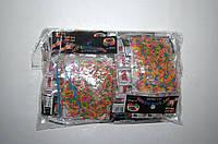 Резиночки для плетения Rainbow Loom 200шт. (разноцветные сердечки, ромашки, звездочки ОТДЕЛЬНО)