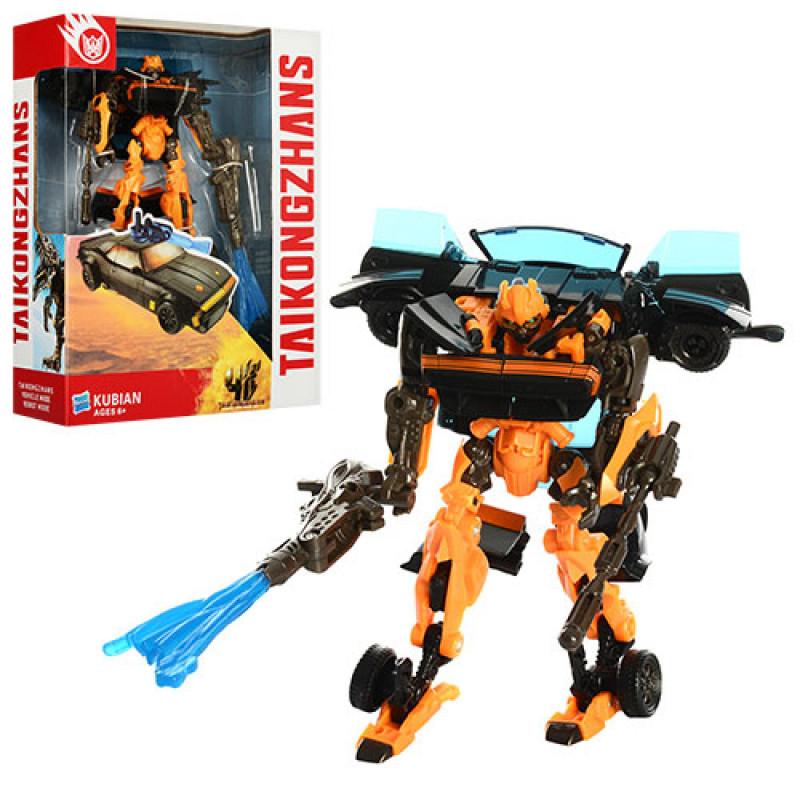 Трансформер Бамблбі Праймбот, робот машинка, в коробці, 20-25,5-7,5 см