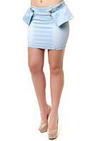 Женская джинсовая юбка, фото 1