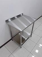 Стол производственный изнержавеющей стали 800х600х850, фото 1