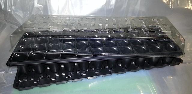 Кассета для рассады Парничок 44 ячейки - Мини тепличка.
