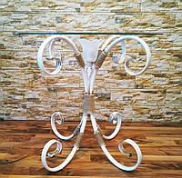 Белый журнальный столик с подсветкой С 509/1 W