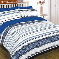 Семейный комплект постельного белья Viluta с ранфорса в украинском стиле