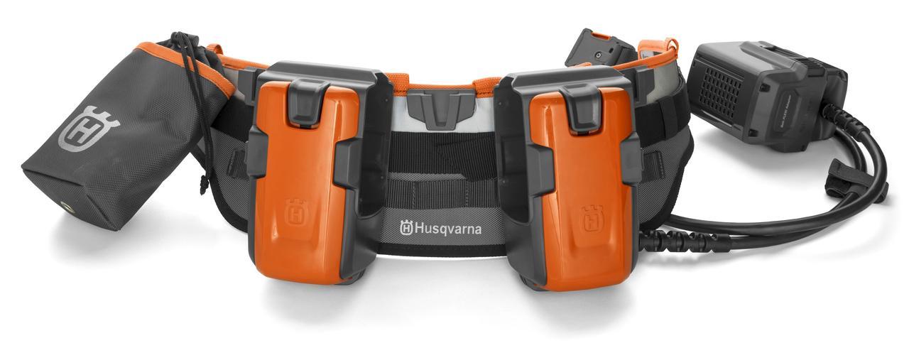 Пояс акумуляторний Husqvarna FLEXI, 1 акк, 1 акк з коннектором, 1 кишеня
