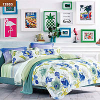 Евро постельное белье с цветочным рисунком для спальни Viluta ранфорс