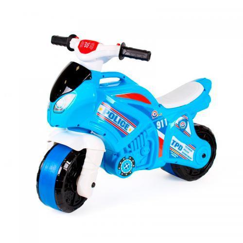 Беговел Мотоцикл ТехноК 6467 с звуковыми и световыми эффектами полиция Гарантия качества Быстрая дос