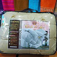 Одеяло шерстяное Casa de Lux Евро, наполнитель овечья шерсть, размер 200х220см, фото 1