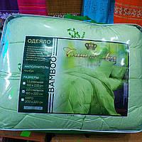 Одеяло полуторное Casa de Lux, наполнитель бамбуковые волокна, размер 150х220см, фото 1