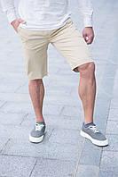 Модные мужские шорты брендовые Томми бежевые