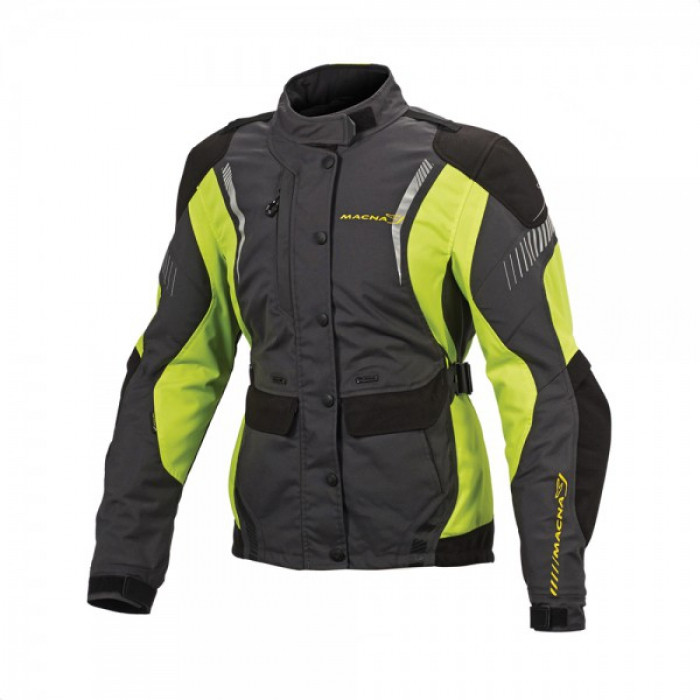 Курточка Macna Beryl Dark Grey/Neon Yellow  L