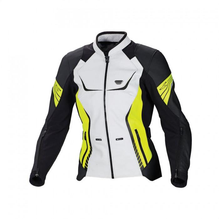 Курточка Macna Orient White/Black/Neon Yellow  40
