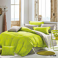 Яркое двуспальное постельное белье Viluta с ранфорса