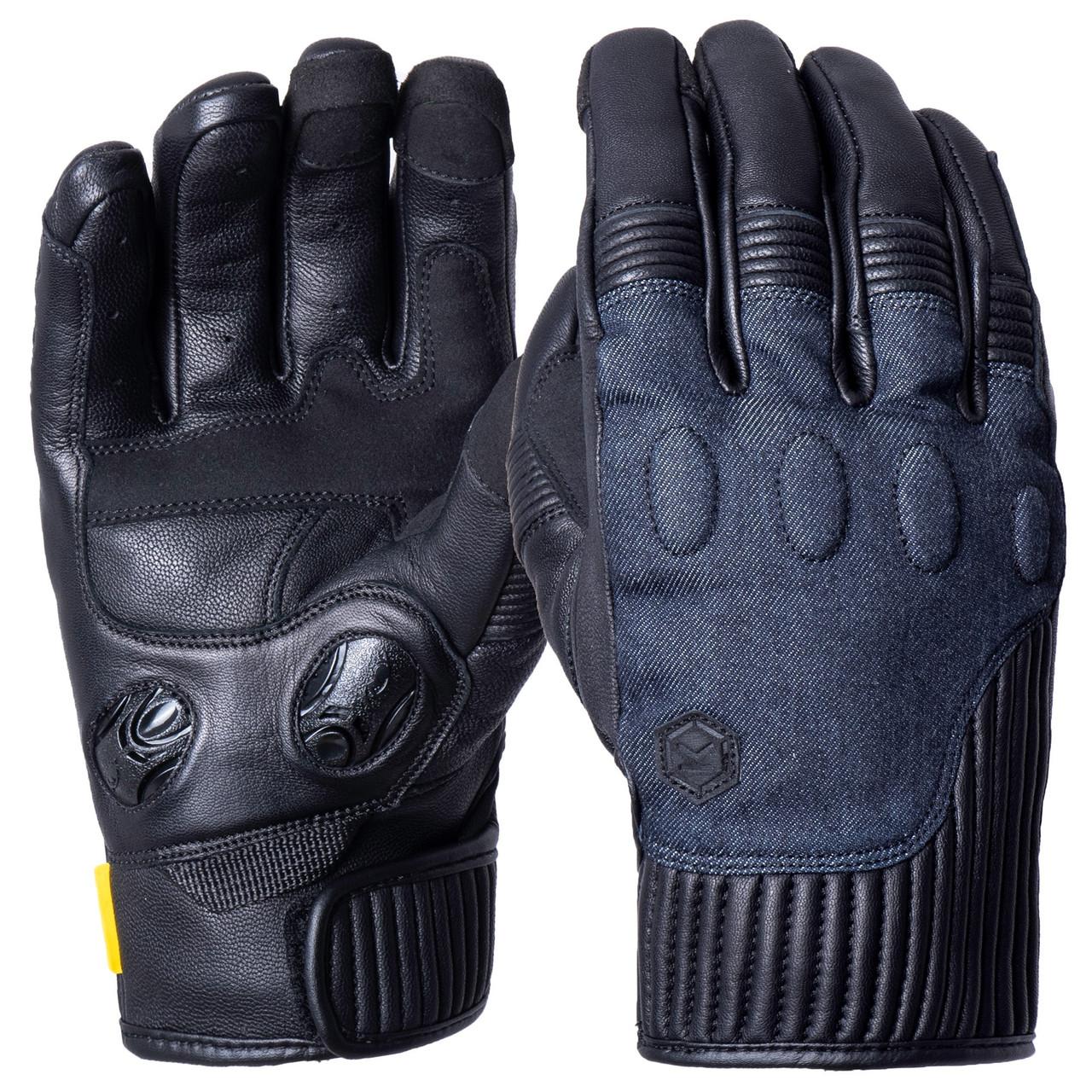 Мотоперчатки Knox Hanbury Black/Denim M