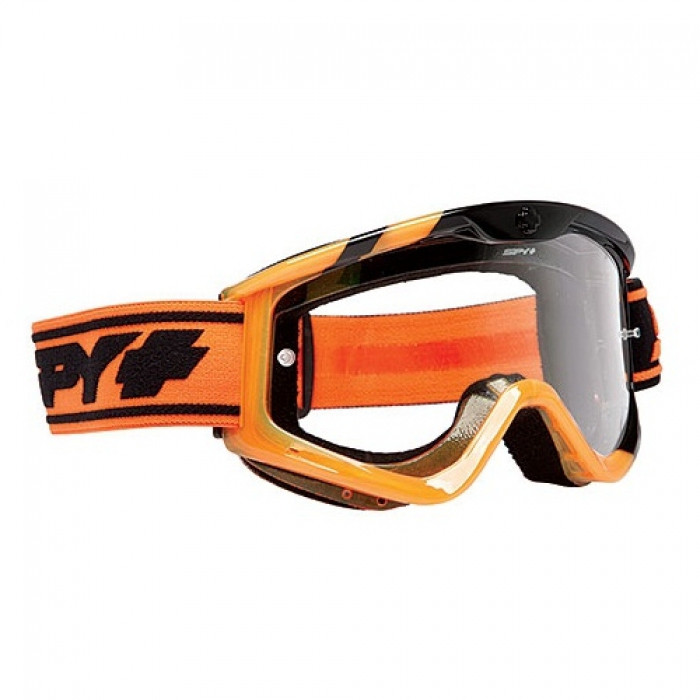 Маска кроссовая SPY+ TARGA 3 MX BLACK SUNDAY (ORANGE) - CLEAR AFP