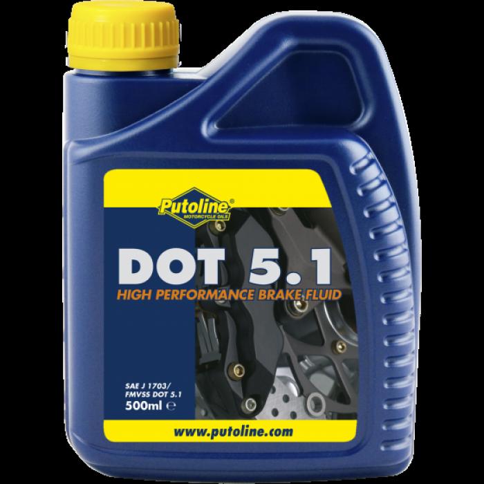 Жидкость тормозная DOT 5.1 500 ml