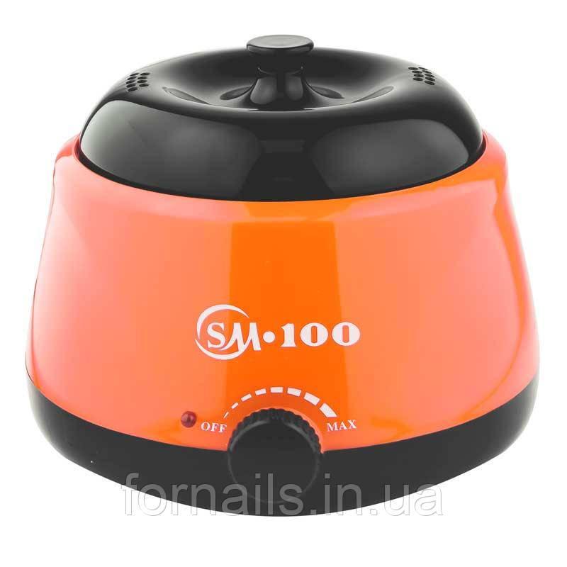 SM-100 Воскоплав для воска в банке, в гранулах, в таблетках, оранжевый
