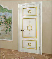 Двері(двери) з масиву дерева (ясен, дуб, клен).