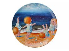 Тарелка декоративная Гапчинская Утренняя гимнастика 20 см 924-204 фарфоровая фарфор декор Gapchinska