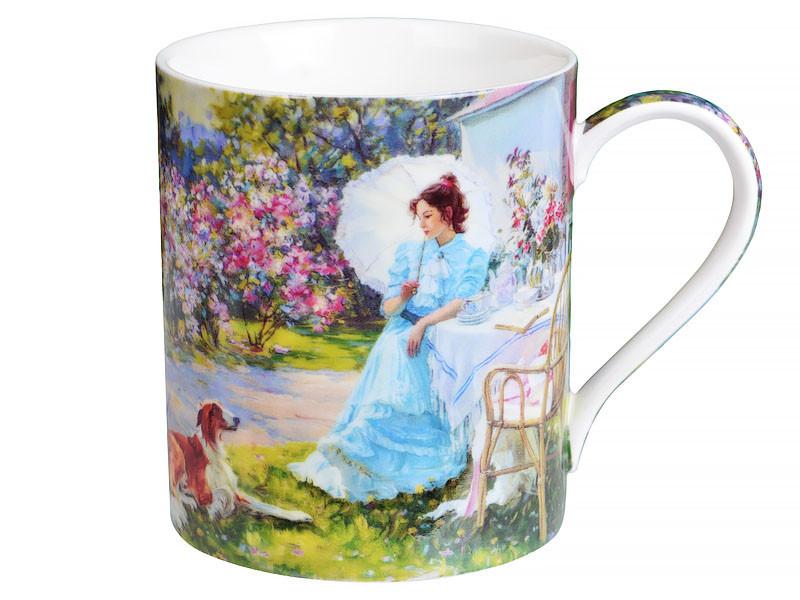 Кружка чашка Lefard Барышня в саду 380 мл 924-221