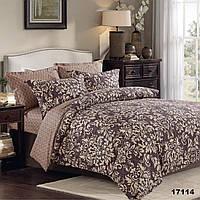 Изысканное двуспальное постельное белье Viluta с ранфорса