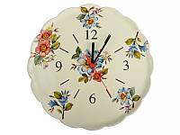 Часы настенные кухонные Nuova Cer  30 см 612-038 часы на стену круглые керамические керамика