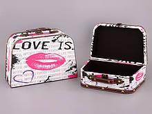 Набор шкатулок 2 шт Lefard Поцелуй 29Х20Х11 см 25Х16Х8 см 187-125 шкатулка шкатулки для украшений