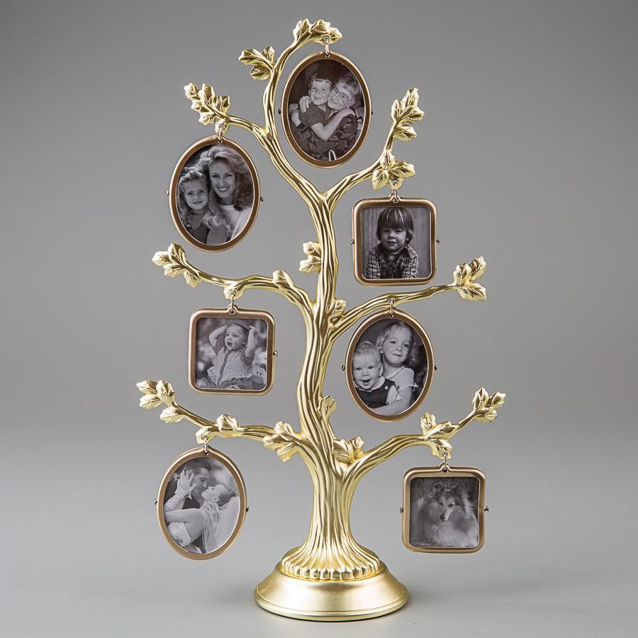Фоторамка настольная Lefard Семейное дерево 26 см 1149C мультирамка коллаж рамка для фото родовое