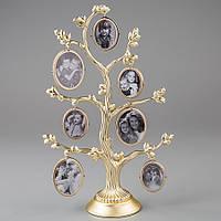 Фоторамка настольная Lefard Семейное дерево 26 см 1150C мультирамка коллаж рамка для фото родовое