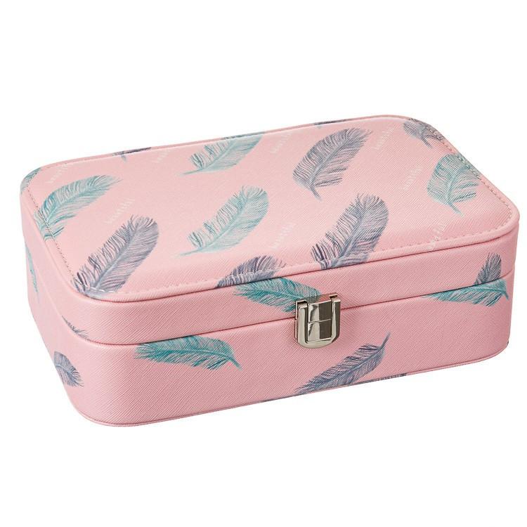 Шкатулка для украшений розовая кейс для прикрас Unicorn Studio 14х22х5 см 292JH органайзер