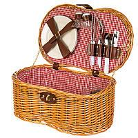 Корзина для пикника Lefard на 2 персоны 44х27х19 см 027PPN сумка для пикника с посудой