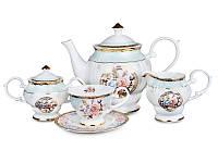 Чайный набор Lefard Нежная роза на 15 предметов 586-322 набор для чая сервиз