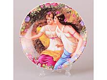 Декоративная тарелка Lefard Подруги 15 см 921-0053/4 настенная керамическая декор на стену девушки