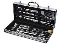 Набор для барбекю Lefard 11 предметов 236-008 приборы инструменты для барбекю в кейсе