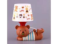 Светильник с абажуром Fashion Lamp Мишка 28 см 39-221