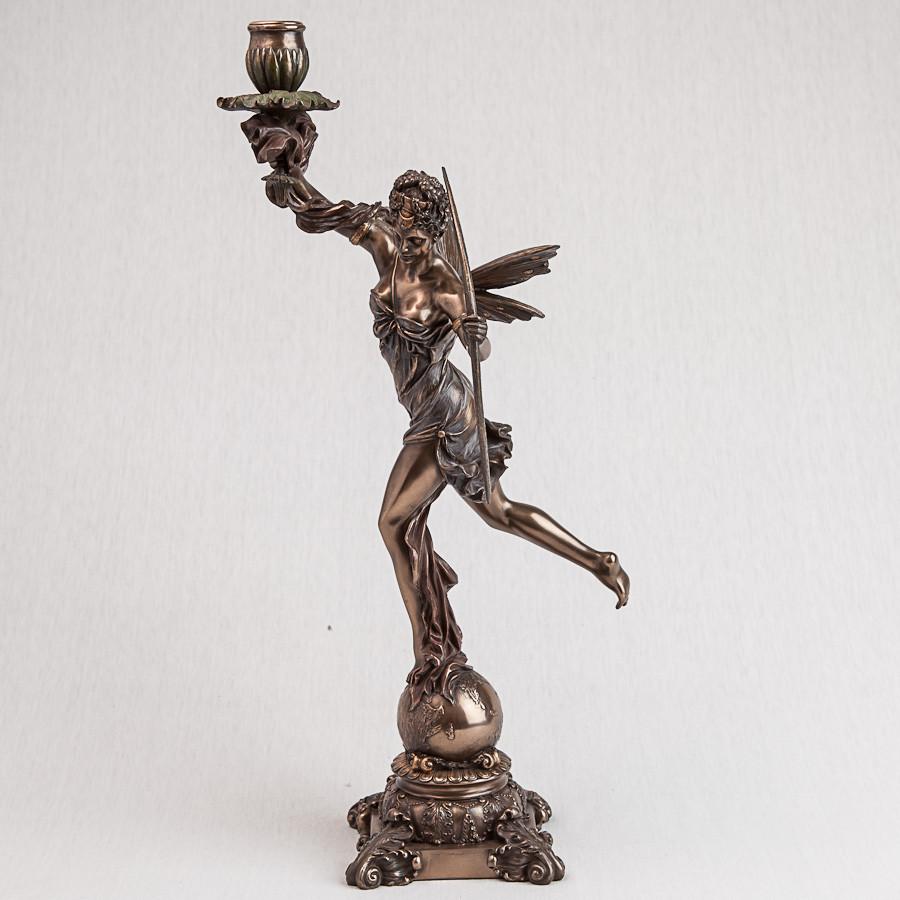 Подсвечник Veronese Богиня Диана 46 см 74788