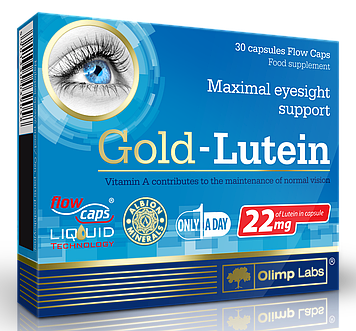Gold-Lutein (30 caps) OLIMP