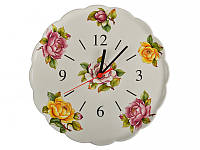 Часы настенные кухонные Nuova Cer 30 см612-011 круглые часы на стену керамические керамика