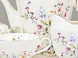 Чайный набор Lefard Цветы на 15 предметов 586-314 набор для чая сервиз, фото 2