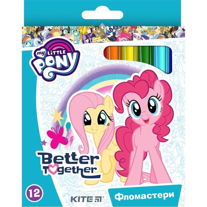 Фломастери KITE набiр 12 шт. My Little Pony