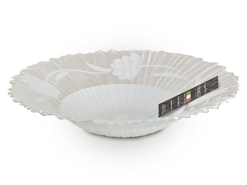 Блюдо Franco s.r.l. Белая пудра 40 см 316-954