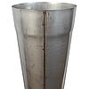 Труба дымоходная D-200 мм S-0,8 мм L-1 метр AISI 321 из нержавеющей стали - «Stalar», фото 4