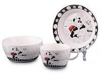 Набор детской посуды Lefard Панда 3 предмета 359-215 посуда для детей
