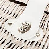 Корзина для пикника Lefard на 2 персоны 43х30х20 см 009PPN сумка для пикника с посудой лоза из лозы, фото 2