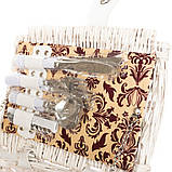 Корзина для пикника Lefard на 2 персоны 43х30х20 см 009PPN сумка для пикника с посудой лоза из лозы, фото 4