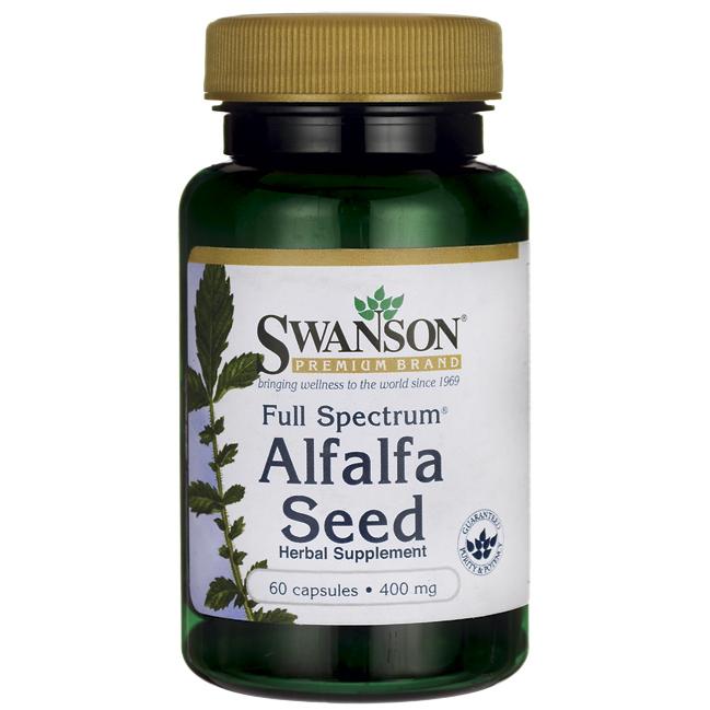 Люцерна таблетки (семена), 400 мг 60 шт
