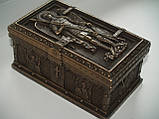 Шкатулка Veronese Архангел Михаил 11 х 5 см 75917 религиозная шкатулка веронезе библейский сюжет, фото 2