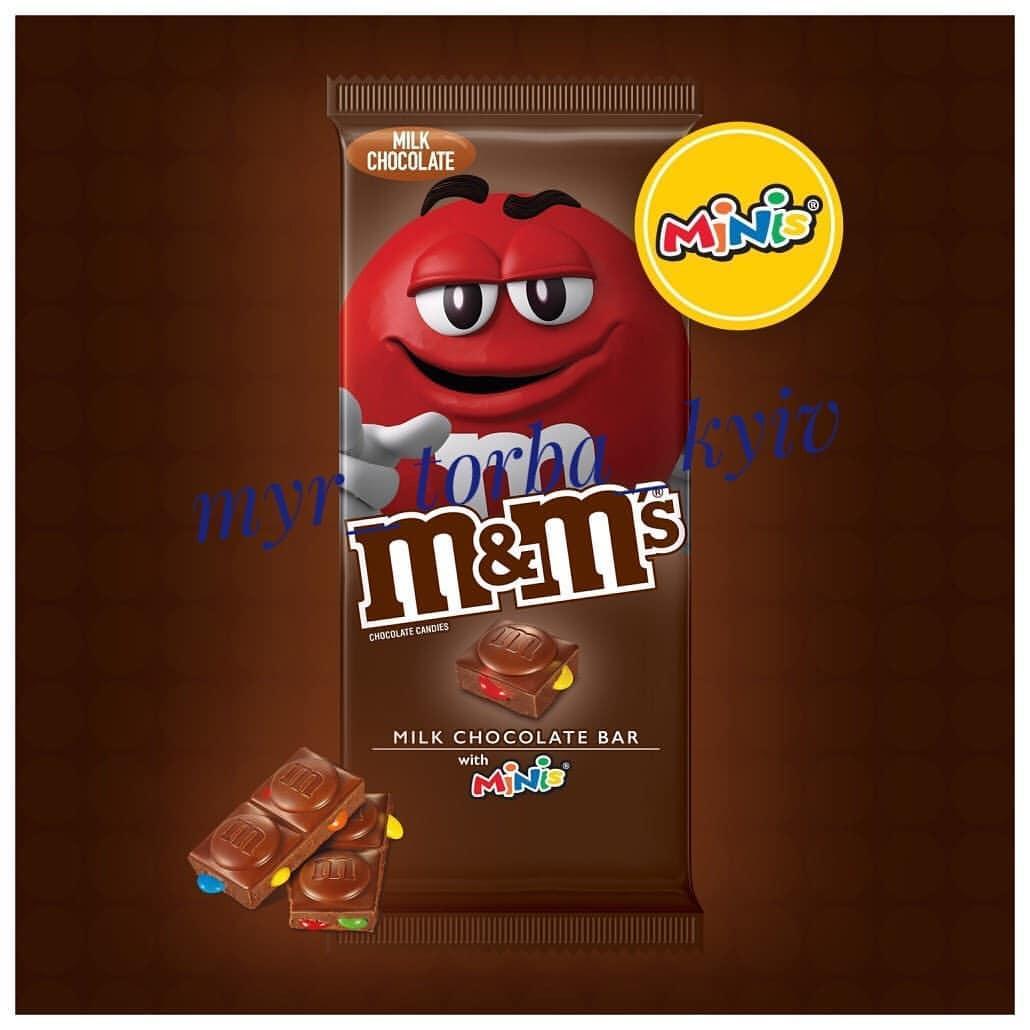 Шоколад Milk Chocolate Bar Milk Chocolate M&M's