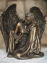 Статуэтка Veronese Ангел 18 см 76367 сидящий фигурка ангела веронезе верона