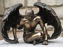 Статуэтка Veronese Ангел 13 см 76014 сидящий парень ню фигурка ангела веронезе верона